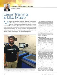 Great article from #AEmag on #lasertraining and the qualities it takes to be a good operator (Kern Lasers is partly featured in this!) Check it out!