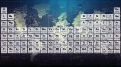 The periodic table like you've never seen it before.