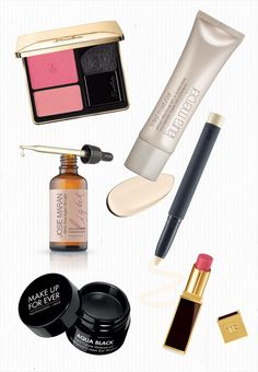 Barely there beauty: the products: http://www.stylemepretty.com/2015/06/07/bridalbeautybreakdown-barely-there-beauty/