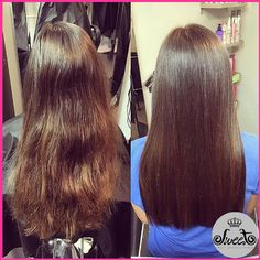 It's amazing what the FIRST Shampoo can do to any hair type. From frizzy and wavy hair to smooth and straight hair!