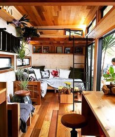 Little houses, plan tiny house, tiny house cabin, tiny cabins, tiny house House Design, Small Space Living, Small Space Design, Tiny House Design, Small Spaces, Home, Tiny House Plans, Tiny House Australia, Small Room Design