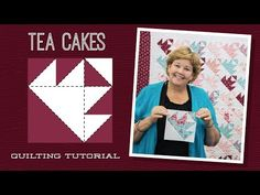 Make a Tea Cakes Quilt with Jenny! - YouTube