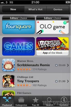 New App Store for iOS  6