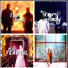 Doctor Who - I have loved the stars too fondly to be fearful of the night.
