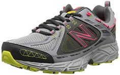 New Balance Womens WT510V2 Trail Shoe GreyLimePink 65 B US -- You can find more details by visiting the image link.