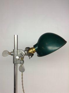 Vintage Hubbell Laboratory Clamp Lamp by ModernArtifactDecor