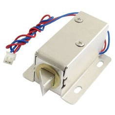 0837L DC 12V 8W Open Frame Type Solenoid for Electric Doo...