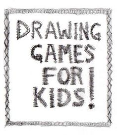 drawing game ideas for kids from Artchoo.com by gina