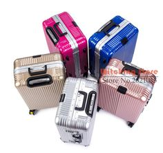 20 INCH 2022242628  Aluminum frame rose gold rod universal wheel 20 board  box 24 suitcase luggage gift  EC FREE SHIPPING f217382121057