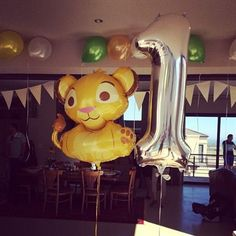 The Lion King: A first birthday party