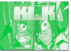 Art of Kill la Kill Vol. 1: Collection of Initial Design Art Book