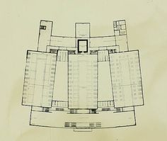 Reichsbank Extension Berlin, 1933|Mies van der Rohe