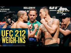 MMA UFC 212 Ceremonial Weigh-In Highlights - MMA Fighting