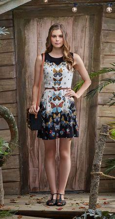Só na Antix Store você encontra Vestido Borboleta I com exclusividade na internet