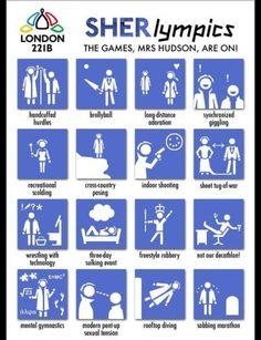 Sherlock Holmes Olympics