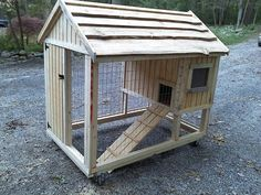 Custom made chicken coops  by CustomCoops, $800.00