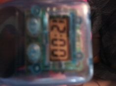 hydro water powered clock      blue  small  portable  eco fun   check blog out ty  http://testtryresults.blogspot.com/