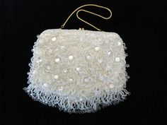 Vintage 1960s Purse  Hollywood Shaggee by jwvintagecloset on Etsy, $48.00