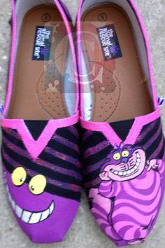 Cheshire Cat Shoes, Amazing!