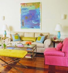 Showhouse Rooms by Designer Eileen Kathryn Boyd | Traditional Home Use of color and geometry
