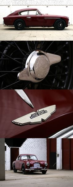 1956 Aston Martin  Maintenance/restoration of old/vintage vehicles: the material for new cogs/casters/gears/pads could be cast polyamide which I (Cast polyamide) can produce. My contact: tatjana.alic@windowslive.com