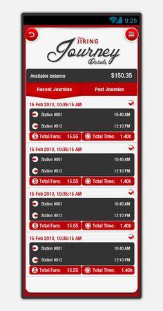 Jiring NFC transit pay app