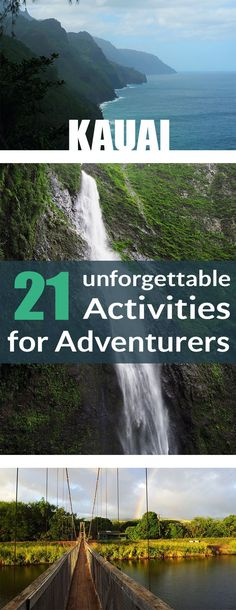 Kauai is a paradise for adventure seekers! There are so many activities you can do. #kauai #hawaii #activities #thingstodo