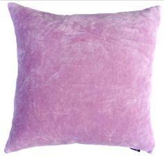 Solid Cotton Velvet, Lavender with Self Flange