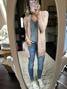 Madewell cardigan - Outfits for Work Cute Fall Outfits, Mom Outfits, Fall Winter Outfits, Casual Outfits, Fashion Outfits, Girly Outfits, Spring Outfits Travel, Denim Fashion, Outfits 2016