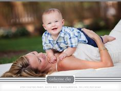 family photography, Dallas Arboretum pictures, summer what to wear ideas, mother and son, children photography, 6 months // Dallas photographer Catherine Clay