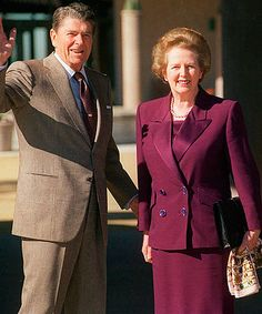 The relationship between U. President Ronald Reagan and British Prime Minister Margaret Thatcher dominated world politics for most of the Greatest Presidents, American Presidents, Us Presidents, American History, 40th President, President Ronald Reagan, Margaret Thatcher, Reagan Thatcher, The Iron Lady