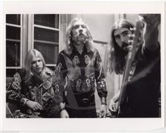 Gregg Duane Allman Brothers Band Berry Oakley Candid Stephen Paley Photo | eBay