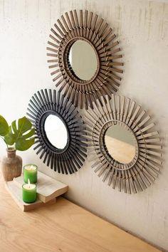 11 Decorative Mirrors Ideas Mirror Wall Mirror Decor Mirror Wall Decor