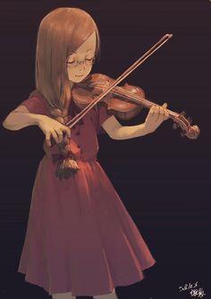 Moon light by on DeviantArt Multimedia, Musik Illustration, Violin, Moonlight, Anime Art, Music Instruments, Twitter, Pixiv, Anime Girls