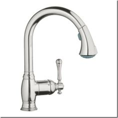 Grohe Faucet pull downThings That Inspire: Kitchen and sink tips from my blog readers!