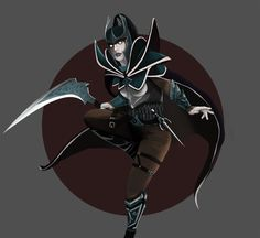 Don't blink, or you'll miss me! Phantom Assassin by Francisco-Moraes on @deviantART