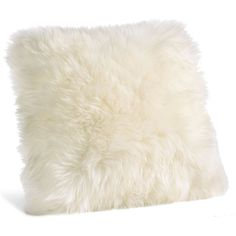 Sheepskin Pillows ($49) ❤ liked on Polyvore featuring home, home decor, throw pillows, plush throw pillows and textured throw pillows