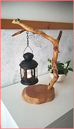 Diy Home Crafts, Decor Crafts, Wood Crafts, Diy Home Decor, Tree Crafts, Room Decor, Home Decoration, Wooden Projects, Craft Projects