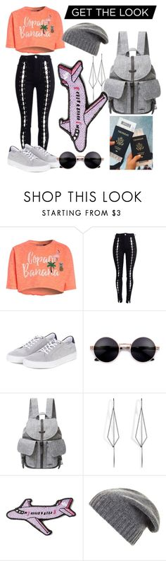 """Untitled #348"" by anoushkavarma on Polyvore featuring Barbour, Herschel Supply Co., Diane Kordas, Stoney Clover Lane and BCBGMAXAZRIA"