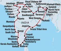 Lonely Planet Nepal And India Overland tour - good trip planning inspiration