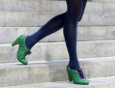 amazing shoes and tights!