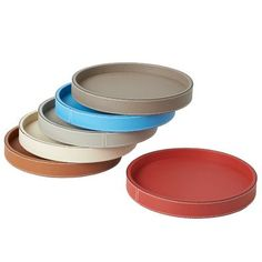 B Home Polo round trays  www.artedona.com