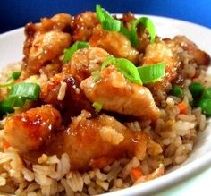 """Copycat Orange Chicken: """"The look and taste of this recipe was spot-on. If I had put the chicken into take-out boxes, no one would have known the difference."""" -Lori_W"""