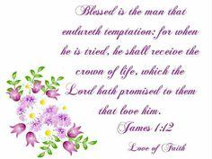 James 1:12 KJV