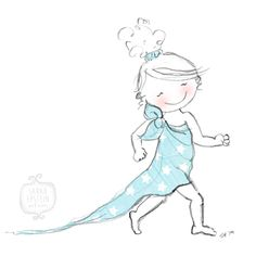 #strut #simple #bedsheet #sassy #illustration #drawing #illo52weeks  2014 - Week 12: Simplicity by http://sarahepsteincreative.com/