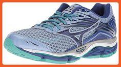 Mizuno Women's Wave Enigma 6 Running Shoe, Light Blue/Columbia/Navy, 9 B US - Athletic shoes for women (*Amazon Partner-Link)