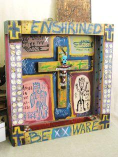Hey, I found this really awesome Etsy listing at https://www.etsy.com/listing/181211794/folk-art-tom-d-reb-roberts-folk-art