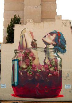 3d Street Art, Street Art Graffiti, Urban Street Art, Best Street Art, Murals Street Art, Amazing Street Art, Art Mural, Street Artists, Amazing Art