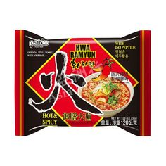 Paldo Hwa Ramyun Hot & Spicy Instant noodle soup 5 Packs x Fun&Yum tasty Asian Noodles, Soba Noodles, Korean Instant Noodles, Korean Chicken, Oriental Fashion, Flower Boys, Noodle Soup, Spicy, Things To Come