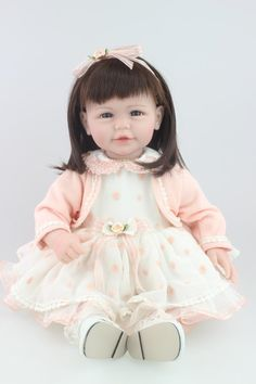 "67.99$  Watch here - http://ali35t.worldwells.pw/go.php?t=32415711412 - ""20"""" New arrival cheap dollar Handmade Silicone vinyl adora Lifelike sexy newborn Baby Bonecas Bebe kid toy doll reborn"" 67.99$"